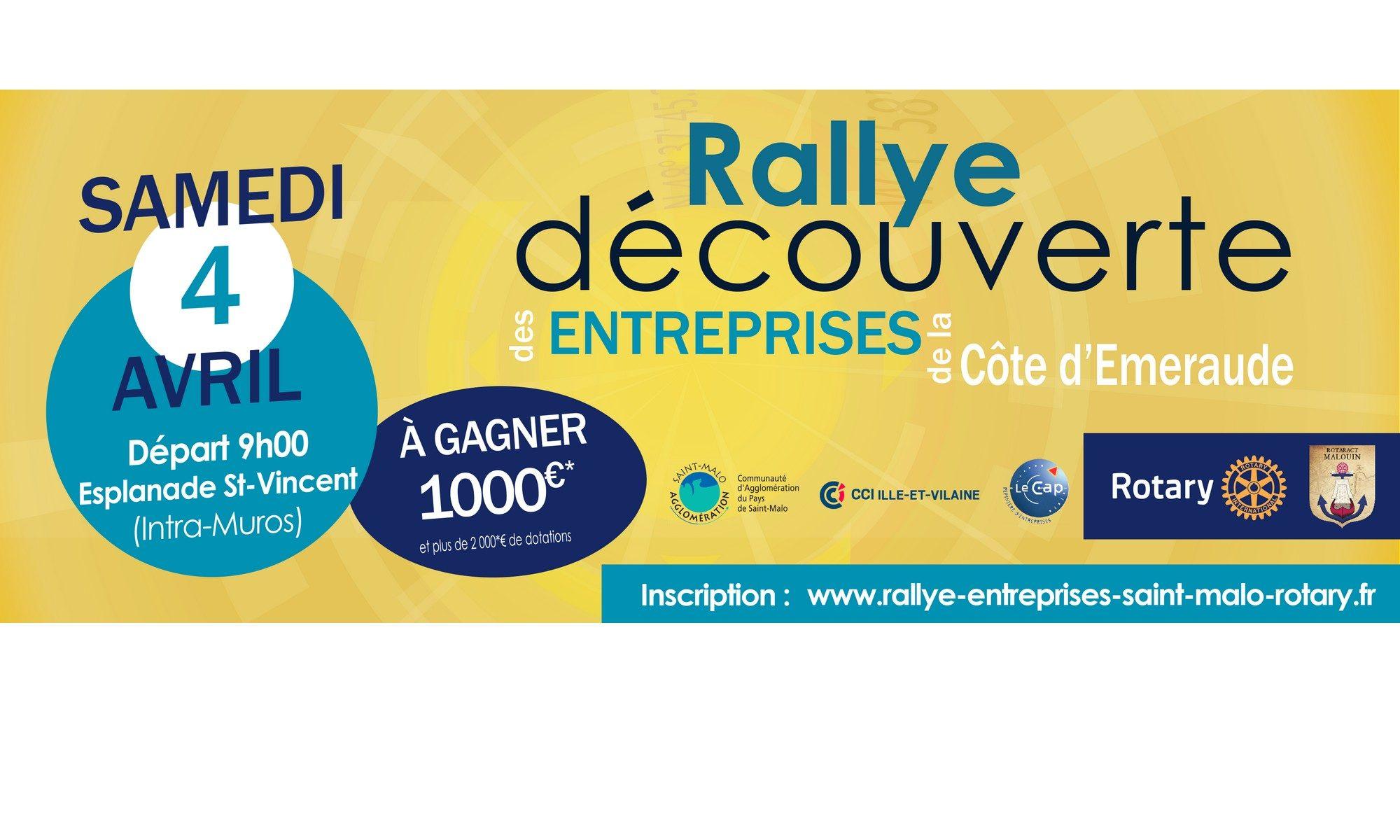 Rallye découverte des Entreprises de Saint Malo et sa région